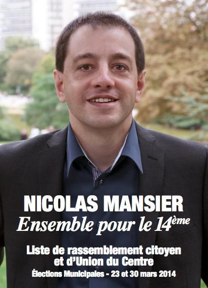 Nicolas Mansier, Ensemble pour le 14ème